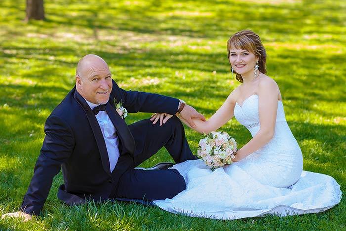 фотосъемка свадьбы на природе        г. Днепр